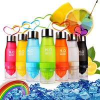 Modern Fruit-Infusing Water Bottle 700ml