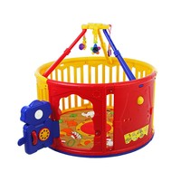 Dream On Me Deluxe Circular Play Yard With Jungle Gym