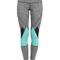 Shocked Colorblocked Leggings