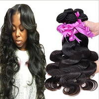 Futuretrend Rosa Hair Products Pervian Virgin Hair Body Wave, Peruvian Virgin Hair Body Wave,7a Unprocessed Human Hair Weave 2 Pieces/lot Total 100g (10 10)