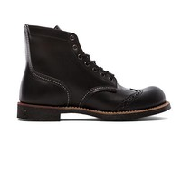"""Red Wing Shoes 6"""" Brogue Ranger in Black"""