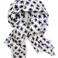 Moroccan Nights Wool-Silk Scarf
