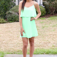 Lime Sherbert Dress