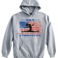 Ash USA Gymnastics Split Leap Hoody