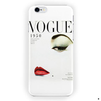 Vogue 1950 Mgazine Vintage Style For iPhone 6 / 6 Plus Case