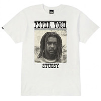 Stussy: Peter Tosh Wanted Shirt - Natural