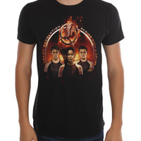 The Hunger Games: Catching Fire Golden Trio T-Shirt