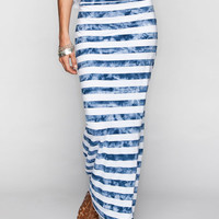 Element Florence Maxi Skirt Navy/White  In Sizes