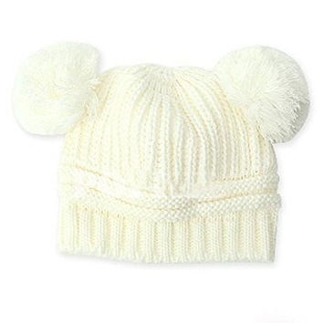 Smart Infant Baby Boys Clothes accessories Warm Wool Knit Winter Hat