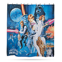 Star Wars Movie Posters Shower Curtains
