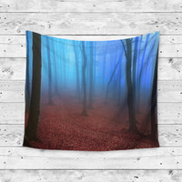 Gloomy Woods Wall Tapestry