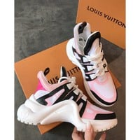 Louis Vuitton Lv Archlight Sneaker Rose Clair Pink - Best Online Sale