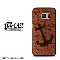 Wood Ship DEAL-12050 Samsung Phonecase Cover For Samsung Galaxy S7 / S7 Edge