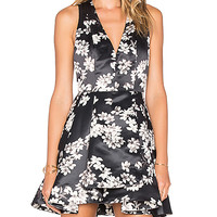 Alice + Olivia Tanner Dress in Southern Blossom