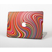 """The Vibrant Colorful Swirls Skin Set for the Apple MacBook Pro 13"""""""