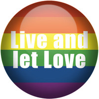 Gay Pride, Equality for all, Live and Let love, Don't tolerate intolerance Flair