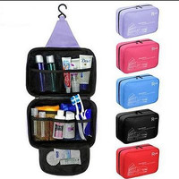 WATERPROOF HANGING TRAVEL TOILETRY BAG WASH MAKEUP CASE STORAGE ORGANIZER POUCH