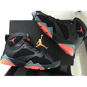 Air Jordan 7 black Basketball Shoes 36-40