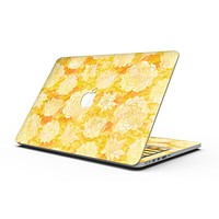 Yellow Floral Succulents - MacBook Pro with Retina Display Full-Coverage Skin Kit