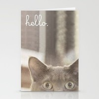 Hello there Stationery Cards by Jillian Audrey | Society6