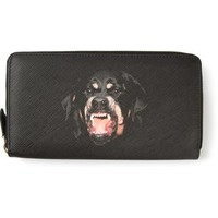Givenchy Rottweiler Continental Wallet - Papini - Farfetch.com