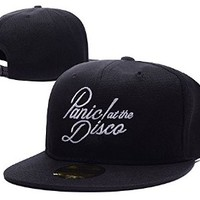 Panic At The Disco Band Logo Adjustable Snapback Caps Embroidery Hats