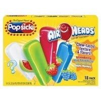 Popsicle Air Heads Ice Pops 18-pk.
