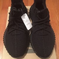 DS Adidas Yeezy Boost 350 V2 Size 8 Black Bred Ultra boost Nmd Kanye West