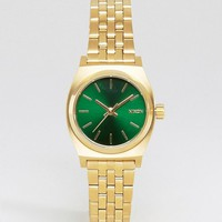 Nixon | Nixon Gold & Green Mini at ASOS