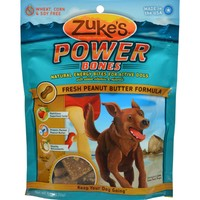 Zuke's Power Bones Dog Treats Peanut Butter - 6 Oz