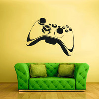 Wall Decal Vinyl Sticker Decals Gaming Time xbox 360 ps3 Game ps2 Controller (z1623)