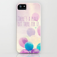 there's a place out there for us iPhone Case by Sylvia Cook Photography   Society6