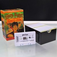 Harry Potter and the Goblet of Fire Unabridged Audio Book on Twelve Cassettes