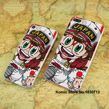 2016 Hot Arale anime design hard transparent clear Cover Case for Apple iPhone 7 6 6s Plus SE 4s 5s 5c