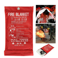 New 1MX1M Emergency Survival Fire Shelter Fire Blanket Extinguishers Tent