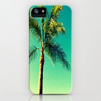 Palm Tree iPhone Case - accessory original photography beautiful nature all models south florida beaches print art effects