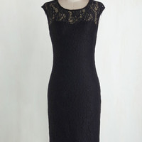 Vintage Inspired Long Cap Sleeves Sheath Sweet Intentions Dress
