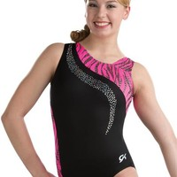 Glow Zebra & Sequinz Workout Leotard from GK Elite