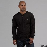 Modern Culture Men's Striped Henley  | Overstock.com