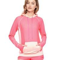 Honeycomb Mesh Hoodie by Juicy Couture