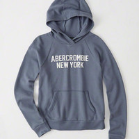 Womens Logo Graphic Hoodie   Womens New Arrivals   Abercrombie.com