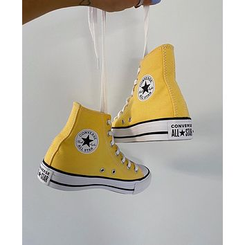 Converse ALL STAR Yellow Sneakers