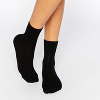 ASOS 3 Pack Ankle Socks Black
