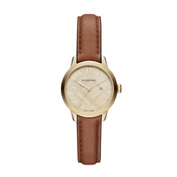 BURBERRY WATCH THE CLASSIC ROUND 32MM ROUND LEATHER