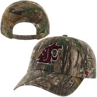 Washington State Cougars '47 Brand Clean Up Adjustable Hat – Realtree Camo