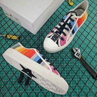 Walk'n'Dior Dior low-top Sneaker In Rainbow Canvas - Best Online Sale