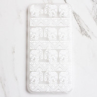 Henna Elephant iPhone Case