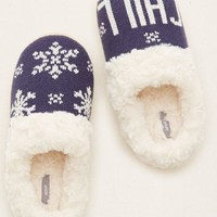 Aerie Women's Cozy Slippers (Royal Navy)