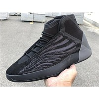 "Adidas Yeezy Basketball ""Triple Black"" Sneakers Basketball Shoes"