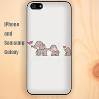 Elephant red flag colorful iphone 6 6 plus iPhone 5 5S 5C case Samsung S3,S4,S5 case Ipod Silicone plastic Phone cover Waterproof
